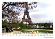 photo calendar paysage