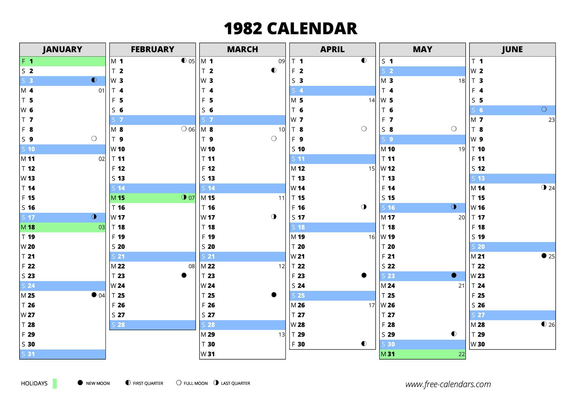 1982 Calendar Telugu.1982 Calendar Free Calendars Com